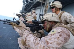 Sgt. Keenan Rheaves, a platoon sergeant with 11th Marine Expeditionary Unit