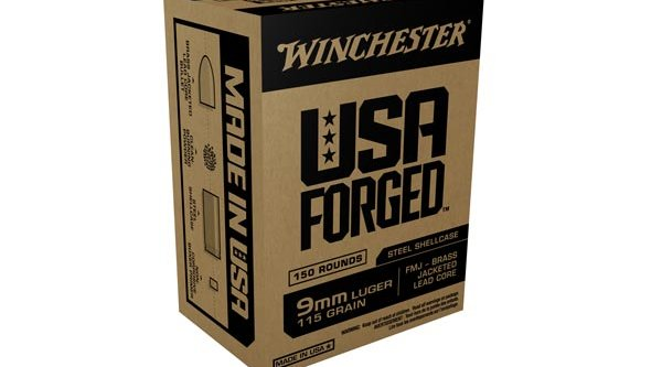 Packaging of the USA Forged ammunition from Winchester