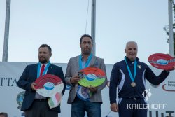 Men's podium - 51st European Championship in sports in Piancardato, Italy