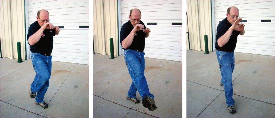 Self-defense and unarmed defense: Footwork