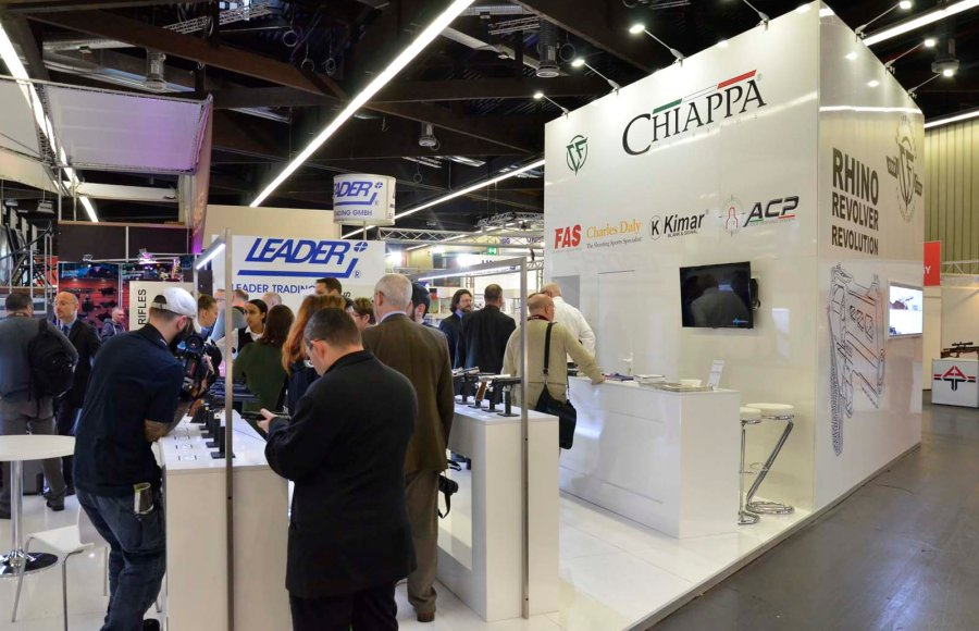 Chiappa Firearms booth at IWA 2018