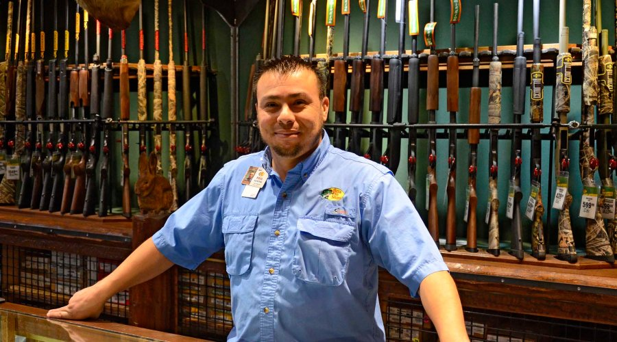 Paul Martinez, hunting Department Manager of the Las Vegas Bass Pro Shops