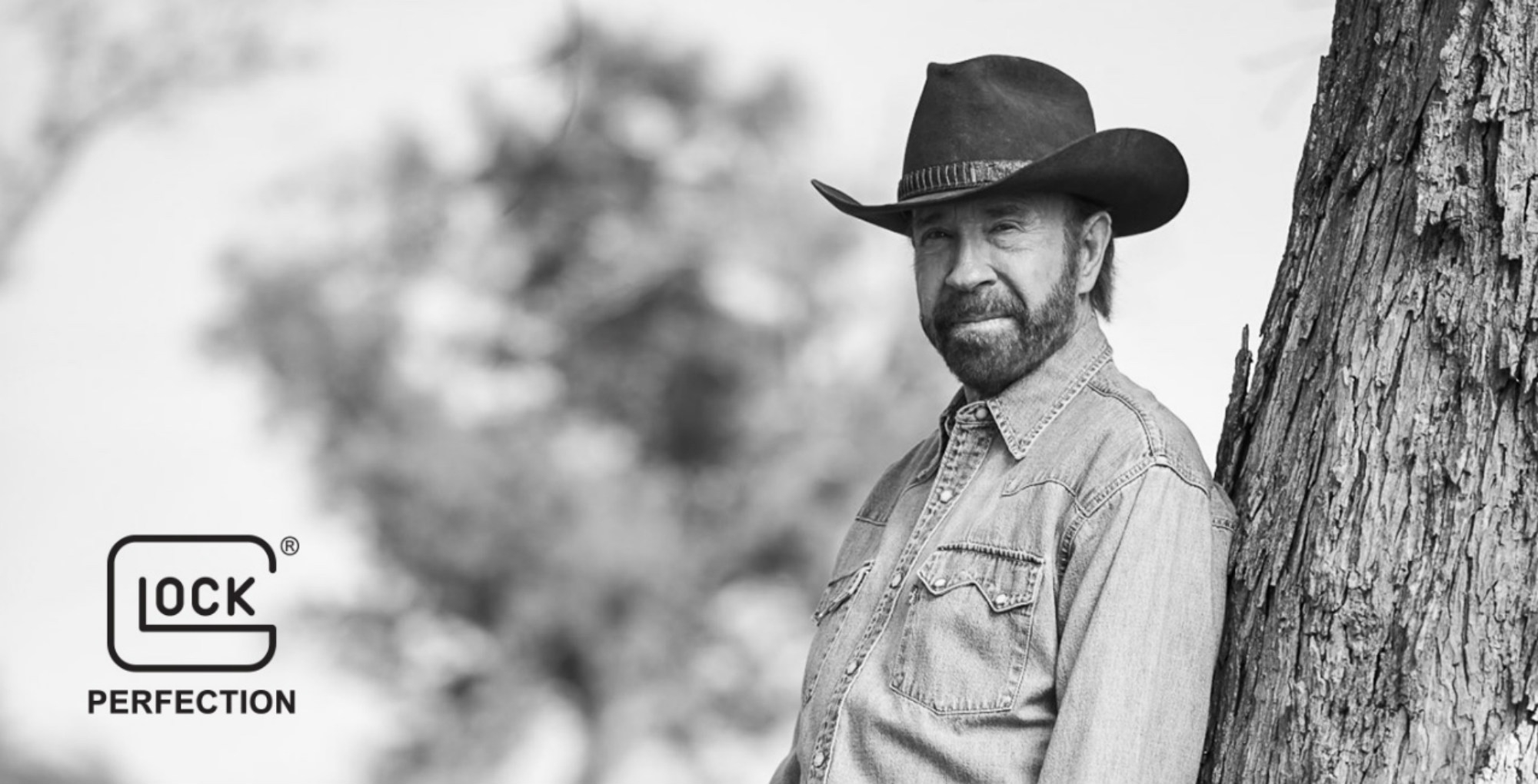Chuck Norris is the new GLOCK's spokesperson