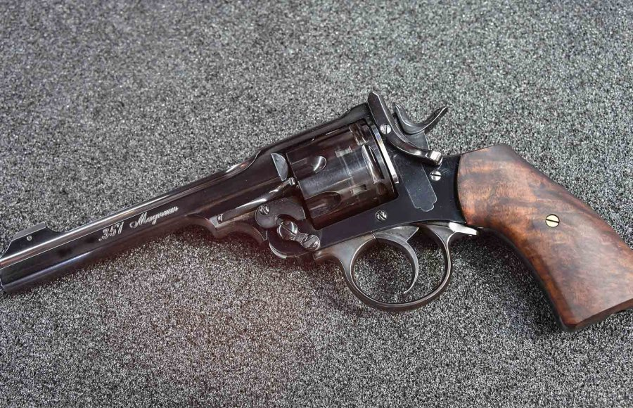 "The Webley ""on steroids"" in .357 Magnum."