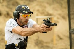 Miroslav Havlícek of the CZ Shooting Team got bronze at the CZ Extreme Euro Open 2017