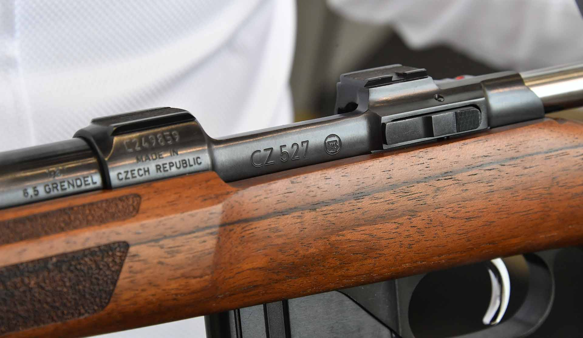 CZ 527 Varmint MTR bolt action rifle