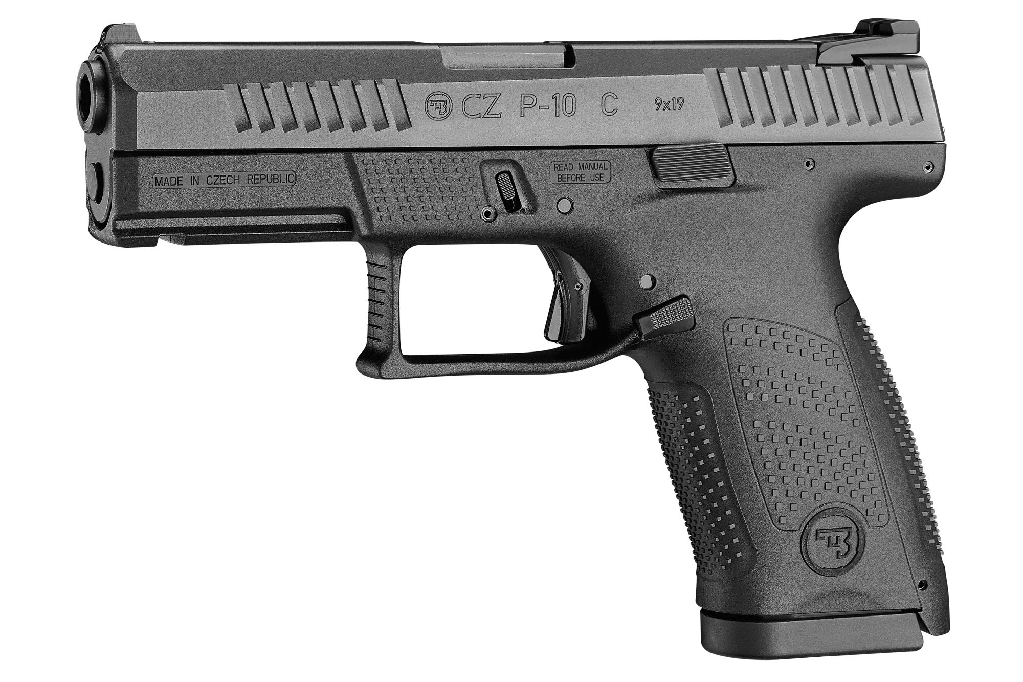 Polymer pistol CZ P-10 C in 9 mm Luger