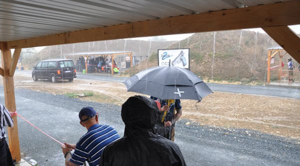 Hheavy rain brought the match to a short halt on the third day of the 18th IPSC Handgun World Shoot 2017.