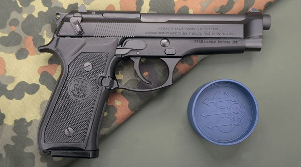 Beretta 92 FS in 9 mm Luger for IPSC Production Division