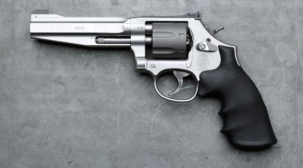 Handgun for the IPSC Revolver Division