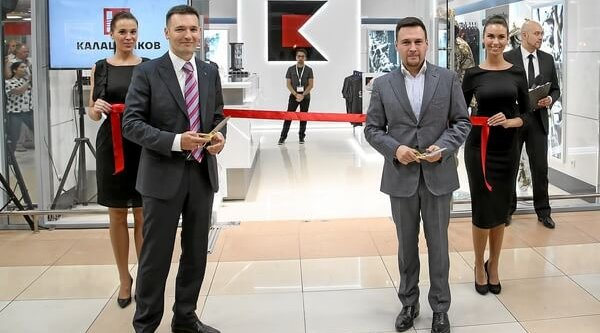 "Kontsern ""Kalashnikov"", opening of its own first store"