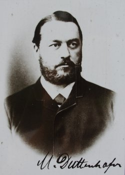 Photograph of Max von Duttenhofer