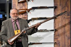 Pedersoli Lorenz Type II rifle at the SHOT Show 2018