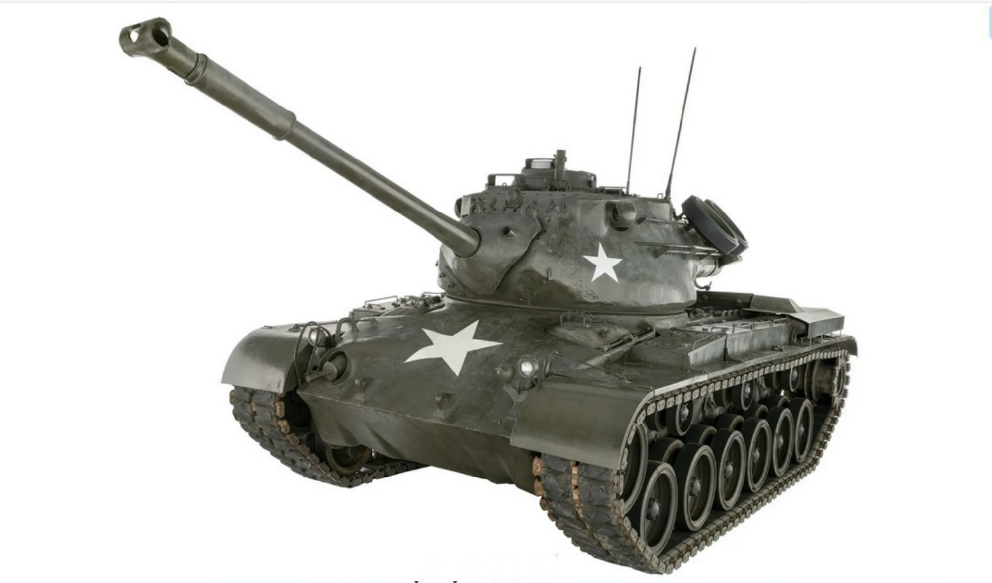 The M47 Patton Main Battle Tank