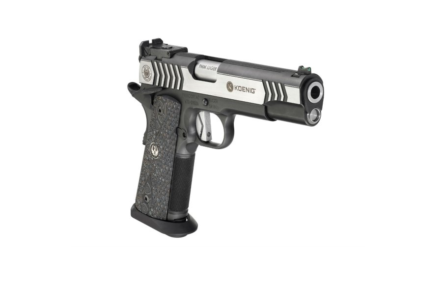 The 9mm SR1911 Competition Pistol, right view.