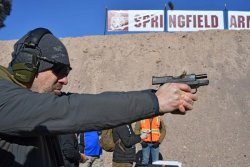 Industry Day at the Range: Springfield XD-S Pistol