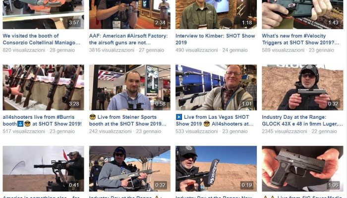 video: Videos from  SHOT Show 2019