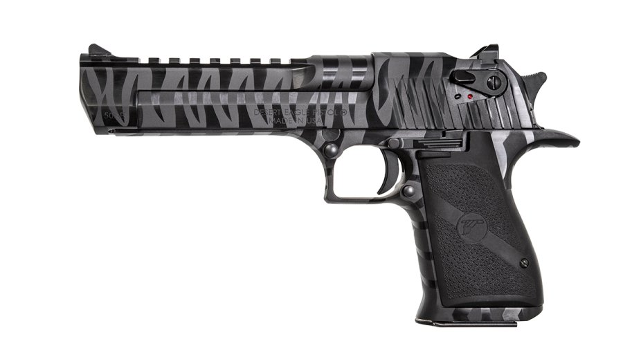 Magnum Research Desert Eagle Tiger Stripe Finish