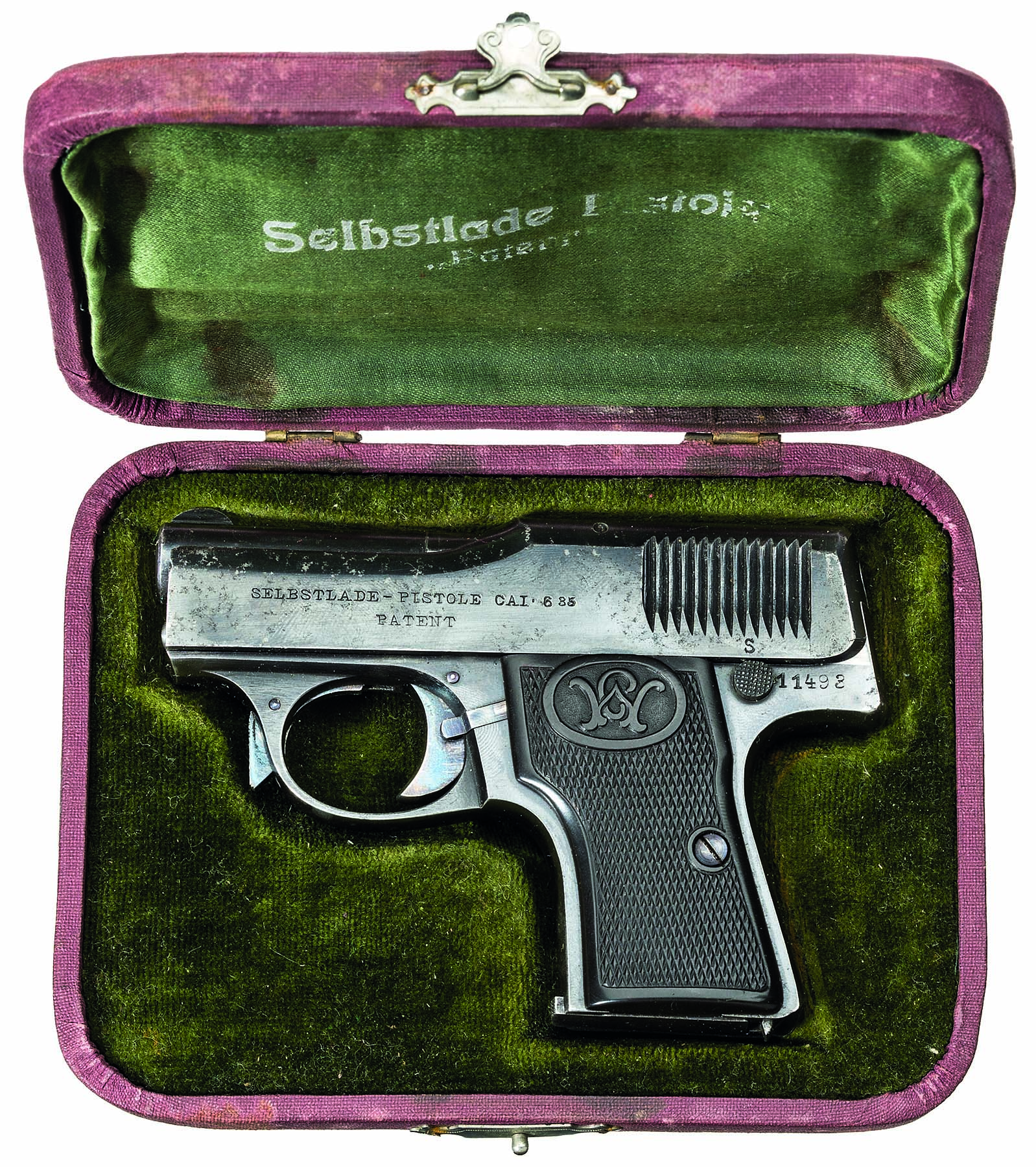 Walther model 1, caliber 6,35mm.