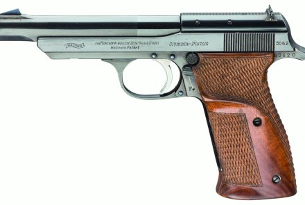 Walther Olympia Jäger in .22 Long Rifle.