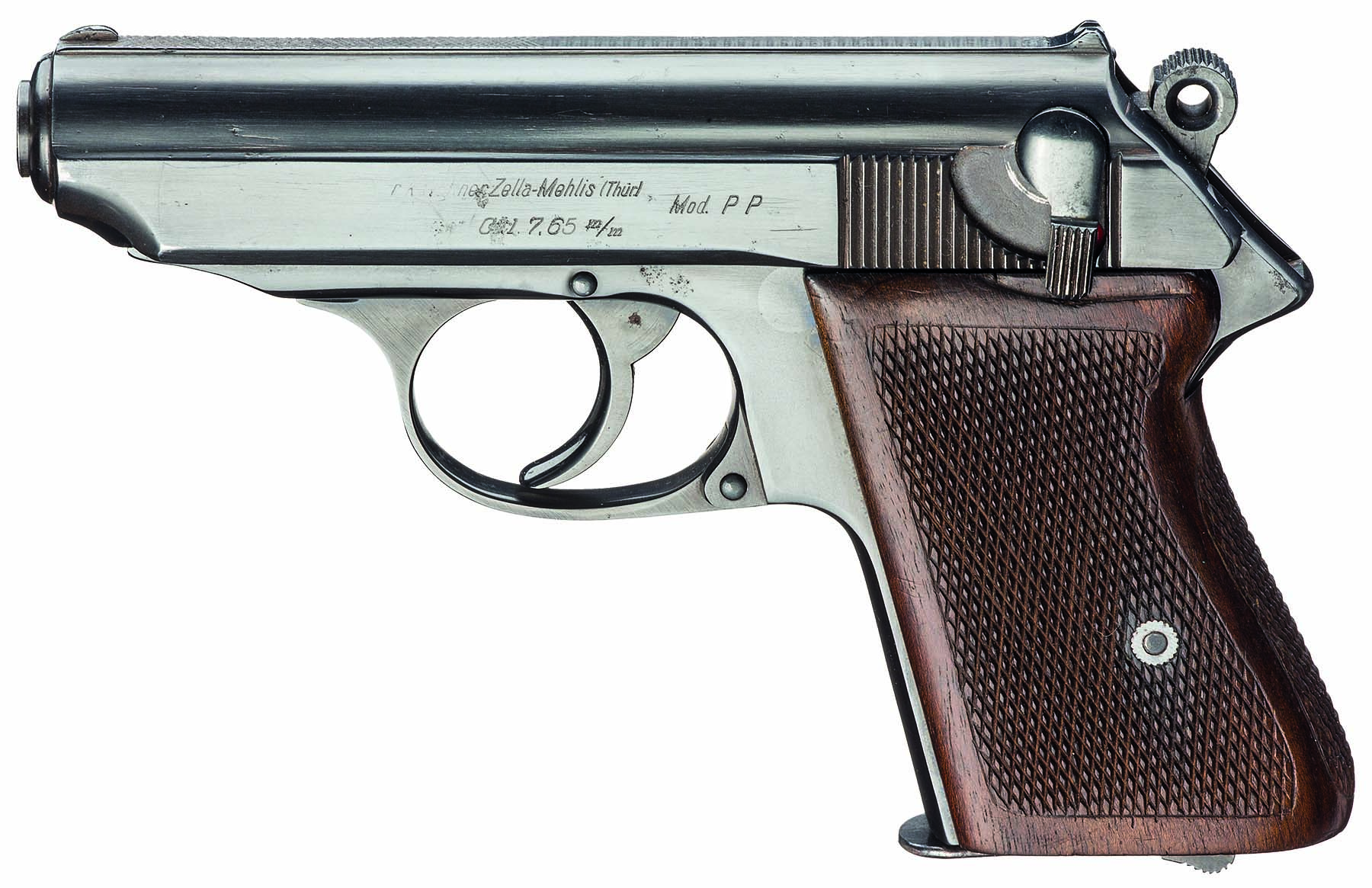 Walther 7,65mm PPK prototype.