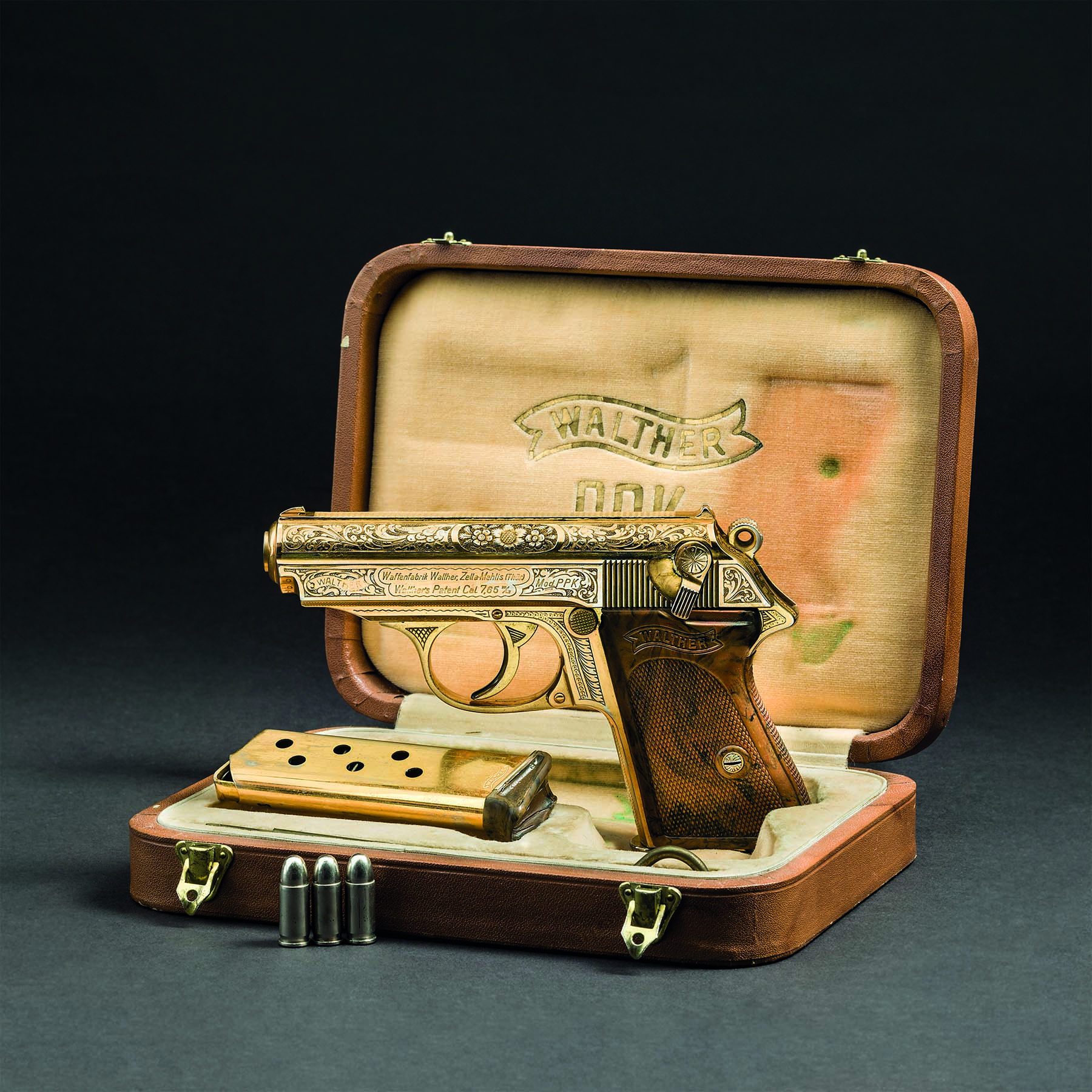 Walther PPK ZM, gold-plated version