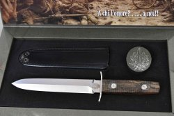 Arditi dagger from FOX with its case