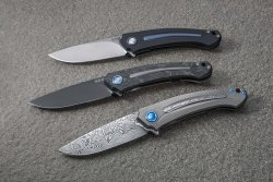 Arvenis foldable knives by Fox.