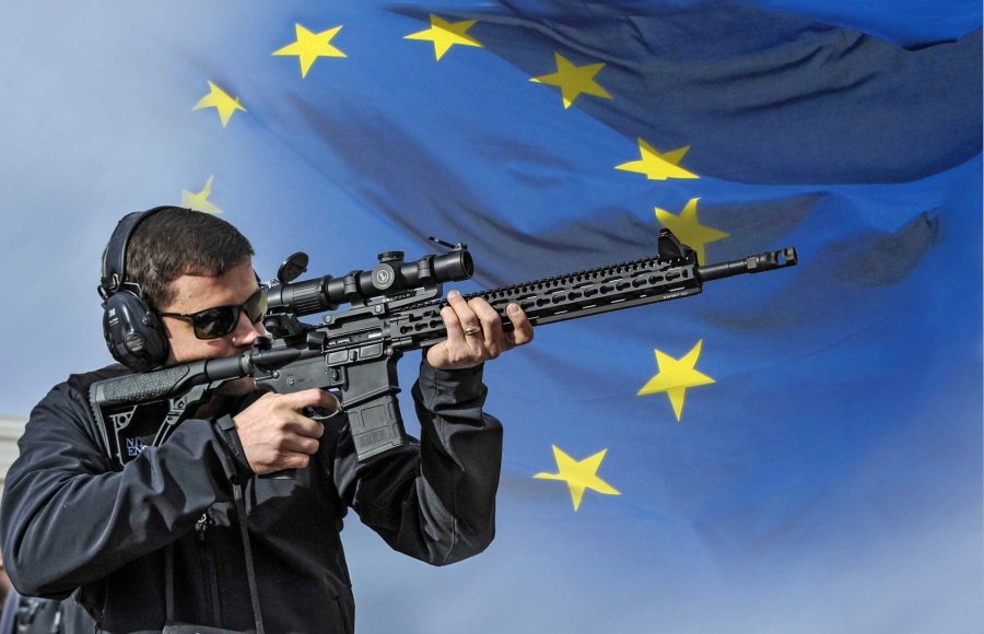 European Directive on control of the acquisition and possession of weapons.