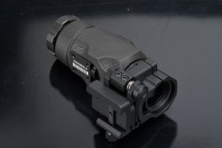 The optics of the Aimpoint 3XMag-1 sight