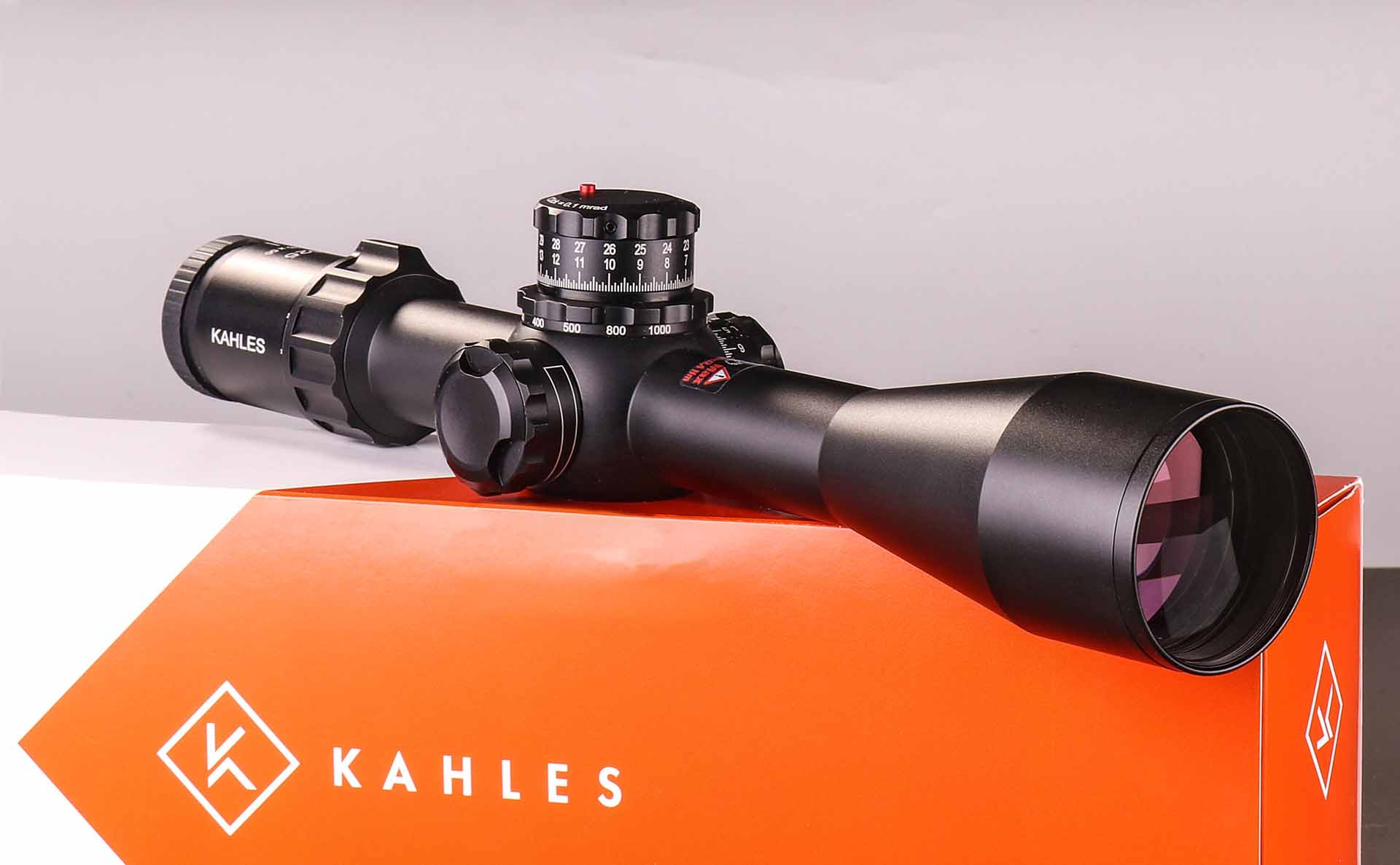 The Kahles K525i 5-25x56 tactical riflescope for lomg range shooting