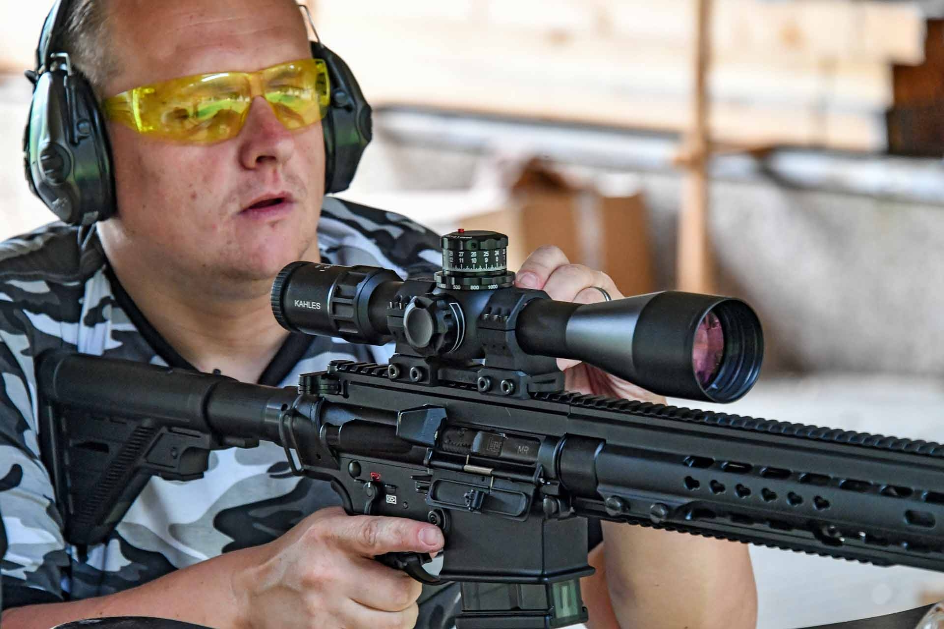 Shooting with the Kahles K525i 5-25x56 tactical riflescope