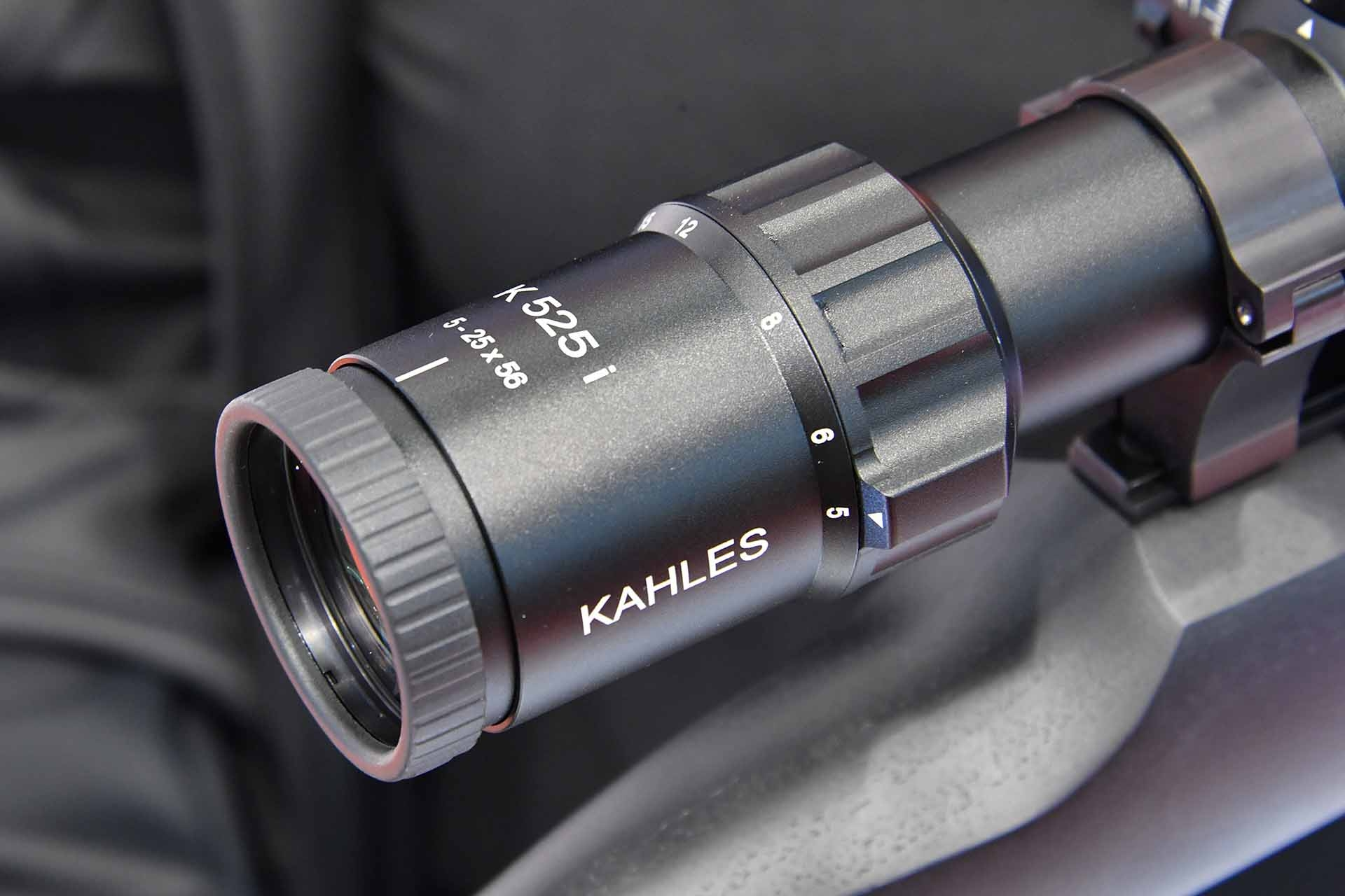 Eyepiece of the K525i riflescope