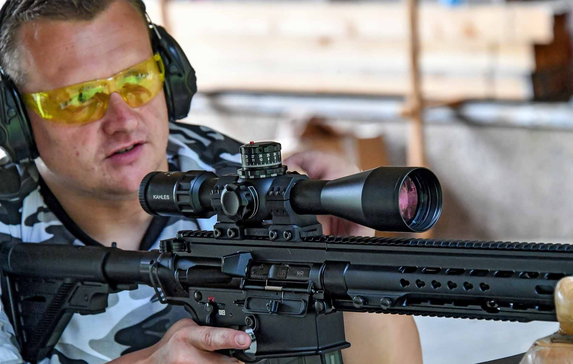 Testing the Kahles K525i tactical riflescope