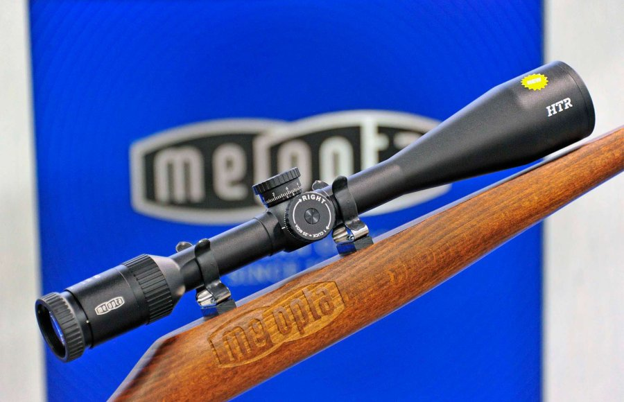 Meopta introduces the MeoPro 6.5-20x50 and 6.5-20x50 HTR variable magnification Riflescopes at the 2016 SHOT Show