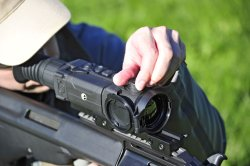 Pulsar Trail XP thermal riflescope: focusing knob