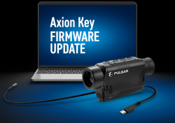 firmware update for the Axion Key with a USB cable and a PC