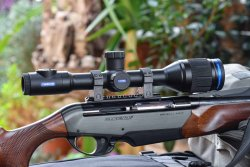 Pulsar Thermion Thermal Imaging riflescope.
