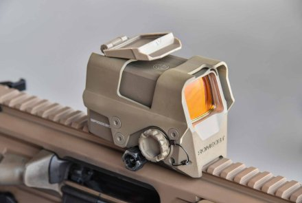 The SIG Sauer Romeo 8T in FDE