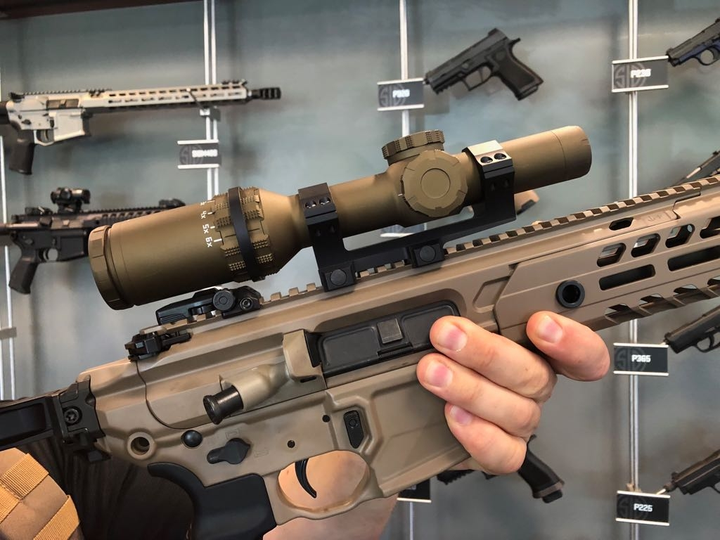 sig-sauer: SIG Sauer TANGO6 1-6x24-riflescope available now for the civilian market