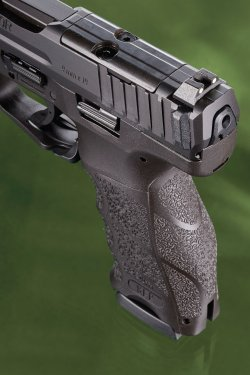 Handle and sights of the Heckler & Koch SFP9 OR