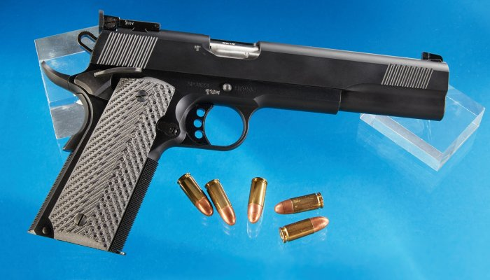 pistols: Test: STP Sparta 6.0, an affordable 9mm, 1911-style custom match pistol