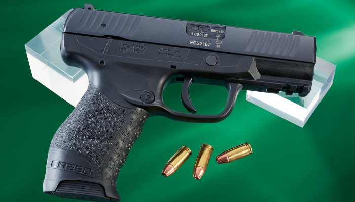 walther:                  Test: Walther Creed 9mm polymer-framed pistol, quality at the right price