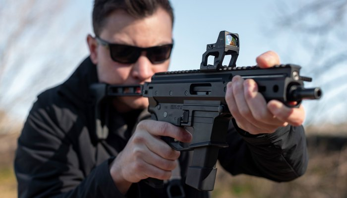 "pistols: Angstadt Arms MDP-9, a new roller-delayed ""subgun"""