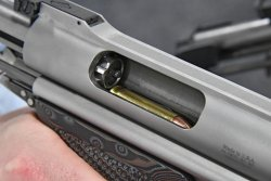 The rotary bolt of Auto Mag pistol