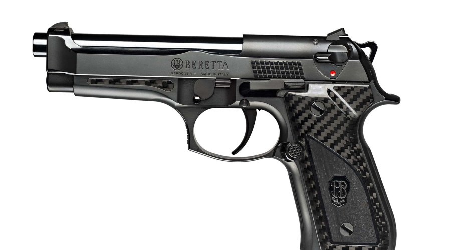 The left side of the Beretta Fusion Black