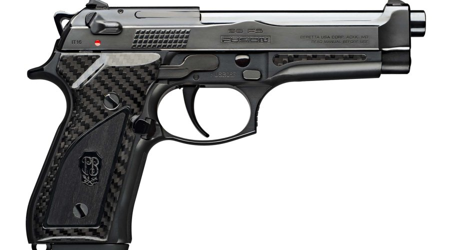 The right side of the Beretta Fusion Black
