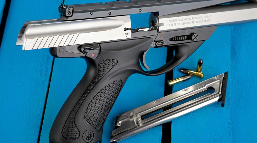 Safety on the Beretta U22 Neos in .22 LR
