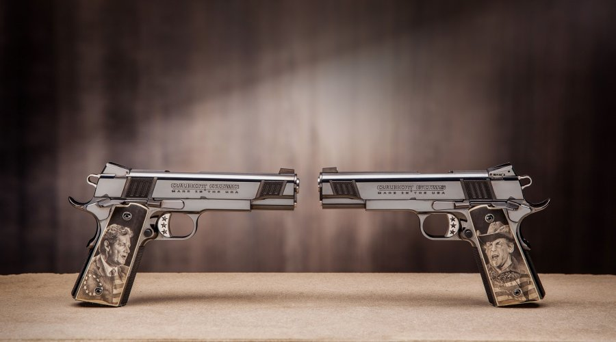 "Cabot Guns Jones 1911 ""The Left and The Right"""