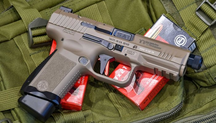canik: Canik TP9 Elite Combat Desert, a red-dot-ready 9mm pistol from Turkey